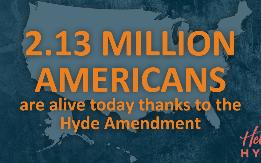 Report: The Hyde Amendment has saved 2.13 million lives